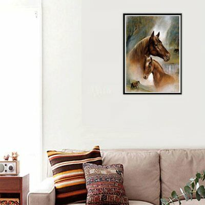 Horse g013 DIY Art Painting Handmade Full Diamond Cross Stitch Wall Decor NS