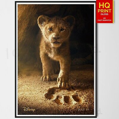 The Lion King Disney Musical Movie 2019 Poster Donald Glover | A4 A3 A2 A1 |