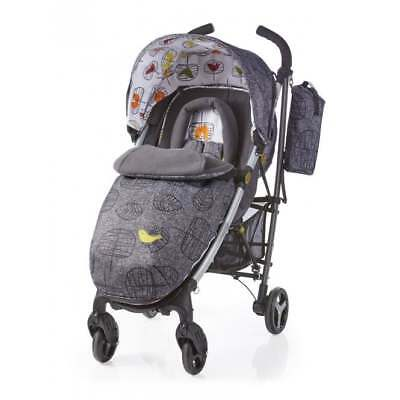 New Cosatto Yo 2 pushchair in Dawn Chorus with footmuff & raincover from birth