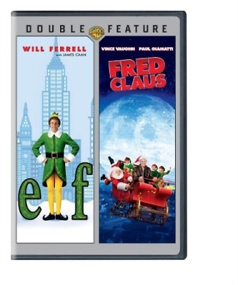 Elf / Fred Claus (2Pc) / (2...-Elf / Fred Claus (2Pc) / (2Pk Ecoa) Dvd New