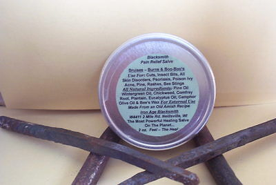 {{{Chickweed - Blacksmith Pain Relief Salve}}} - For Bruises - Burns & BooBoo's