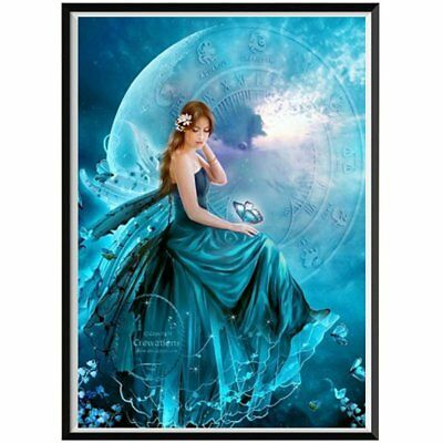 Beauty Diamond Painting 5D DIY Embroidery Rhinestone Cross Stitch Craft W6 UE