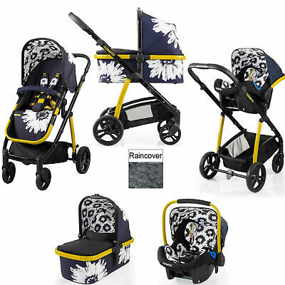 Brand new Cosatto Wow Pram and pushchair Sunburst with Port Car seat & Raincover