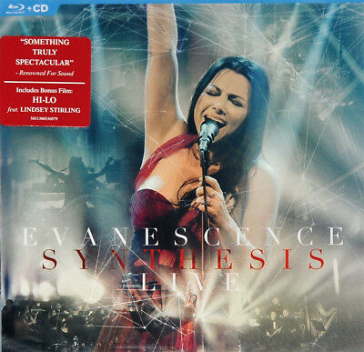 Evanescence - Synthesis Live, Org 2018 Eu Cd + Blu-Ray, New - Sealed!
