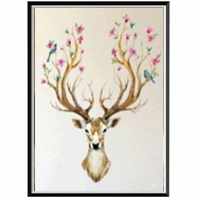 deer j716 diamond painting Handmade Diamond Painting Art Craft Home Wall DecorZ0