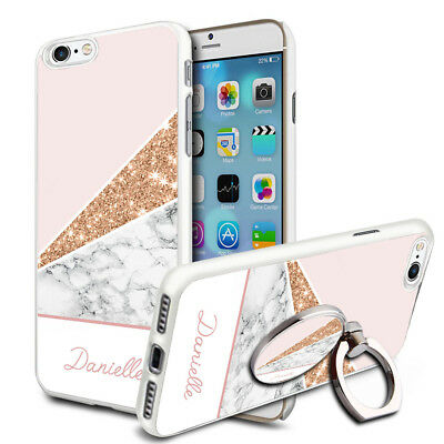 Marble Personalised Phone Case Cover & Ring Stand For Top Mobiles - A86