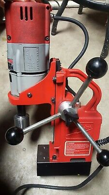 """Milwaukee 1/2"""" Electro Magnetic Drill Press  120V 600 RPM Forward Only"""