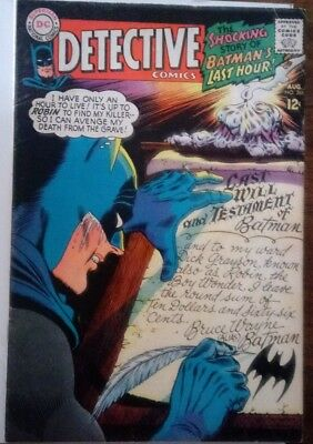 Detective Comics #366 (Aug 1967, DC) FN Condition.
