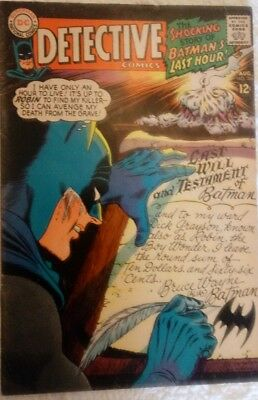 Detective Comics #366 (Aug 1967, DC)