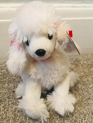 72db07dc107 TY BEANIE BABY WITH TAG - L  AMORE THE WHITE POODLE DOG Cute Rare 2002