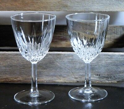 "Luminarc/StemWare/Diamant/Crystal Clear/Wine Glass/Claret/5 3/4"" Tall/Set 2"