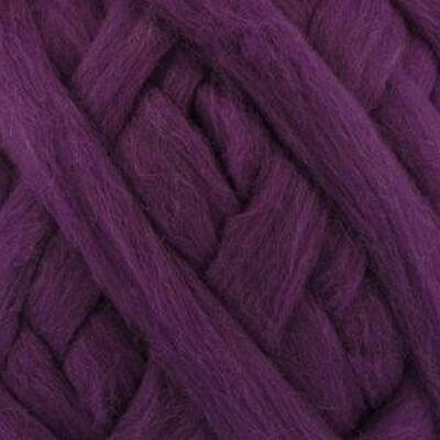 Bergere de France Waouh Chunky 100% Merino Wool, Big 500g Ball, VIOLET (10115)