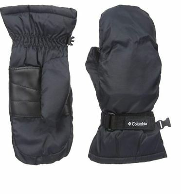 Columbia Youth Y Core Mittens Girls Size Medium Winter Snow Black CY9013 $30!!
