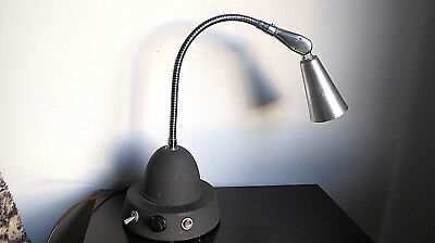 Mid-Century Industrial Scientific Instruments Gooseneck Desk Lamp Laboratory