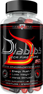 Innovative Labs Diablos Fat Burner (90 Caps) Weight Loss & Energy FREE SHIPPING