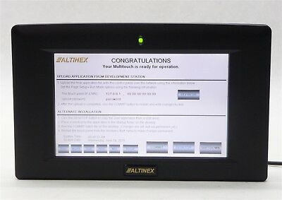 """Altinex Cp450-007 7"""" 16:9 Color Multitouch Panel Wifi Touch Screen Controller"""