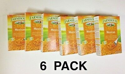 Farmhouse  Mexican Style Rice  6oz Box (Pack of 6)