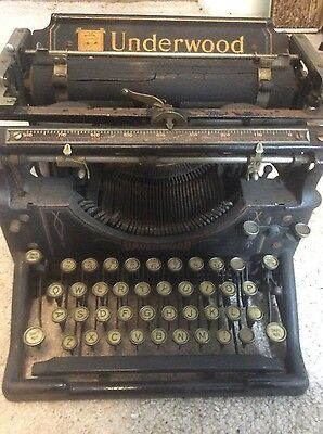 Vintage Underwood Standard Typewriter No.5 1920's