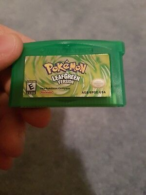 Pokemon LeafGreen Gba