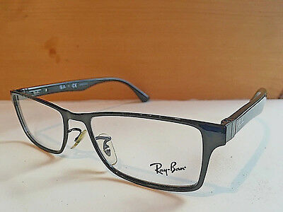3f720ae4482 Ray Ban RB 6238 2509 Black RX New Authentic Frames Christmas Holiday