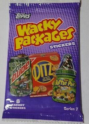 Wacky Packages Series 7 Trading Card Pack Inserts & Gold Pos +Bonus & Donation