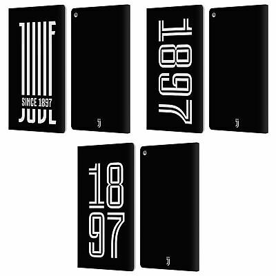 Official Juventus Football Club Heritage Leather Book Case For Amazon Fire