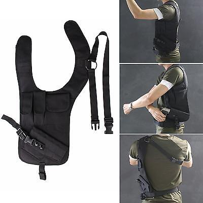 Concealed Underarm Shoulder Holster with Additional Pouch bag For Pistol Carry