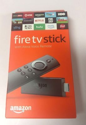 Amazon Fire TV Stick with Alexa Voice Remote Streaming 2nd Gen NEW