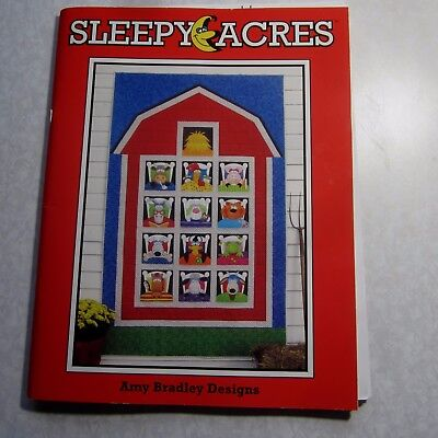 Sleepy Acres quilt kit designed by Amy Bradley in a blue satchel