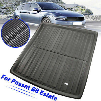 Boot Cargo liner Tray Rear Trunk Floor Mat For VW Passat B8 Wagon Variant 14-19