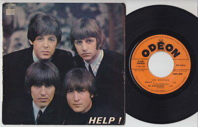 The BEATLES * Help! * 1965 French EP *