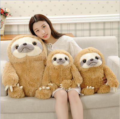 New Cute Giant Sloth Stuffed Plush Animal Doll  Soft Toys Pillow Cushion Gifts !
