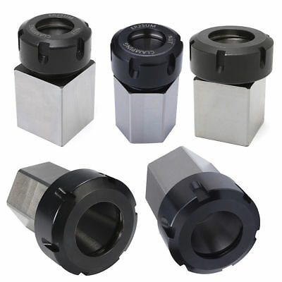 Hex ER25/32/40 Collet Block Spring Chuck Collet Holder for Latch Engrave Machine