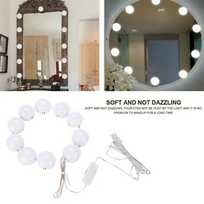 Vanity LED Mirror Light Kit For Makeup Mirror With Dimmable Light Bulb