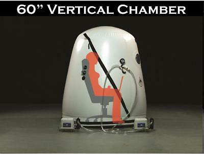 Reduced Wheel Chair Vertical Hyperbaric Military Chamber 60 inch Save Big
