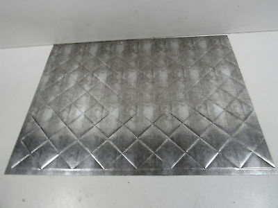 Fasade Ceiling Tile-2x2 Suspended-Traditional 4 in Argent Silver