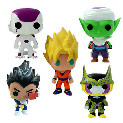 Quality Dragon ball Goku Vegeta Piccolo PVC Figure Model Doll Toy Collection