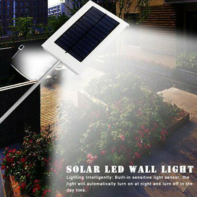 New 48 led Solar Light Remote Control PIR Motion Sensor Powered Street Lamp IP65