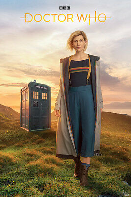 Doctor Who 13Th Doctor 91.5 X 61 Cm Maxi Poster New 100% Official Merchandise