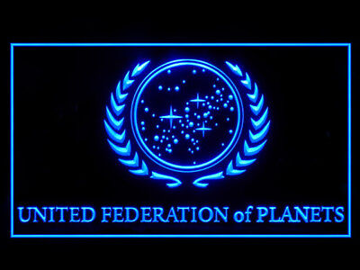 P700B Star Trek United Federation of Planets For Display Light Sign