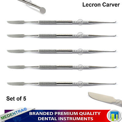 Dental Lab Carving Tools Lecron Carver Wax Molds Carvers Set of 5 Wax Sculpture