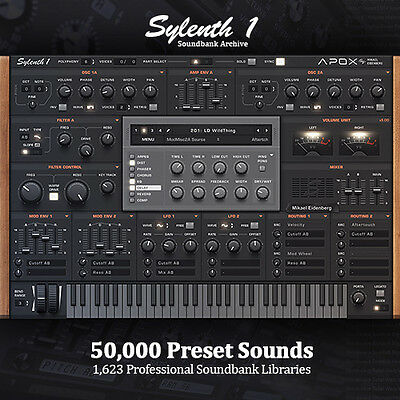 Sylenth - Huge 50,000 Preset Producer Archive 1,623 FULL Soundbank Libraries