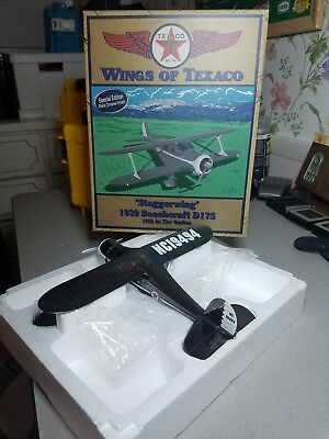 """Wings Of Texaco #12 -1939 Beechcraft Ds17S """"staggerwing"""""""