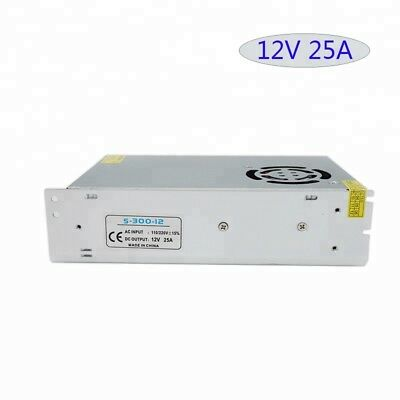 Transformateur power supply S-300-12 12V 25A NEW NEUF