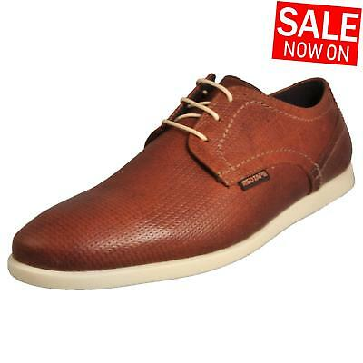 Red Tape Houghton Men's Classic Casual Leather Dress Shoes Brown