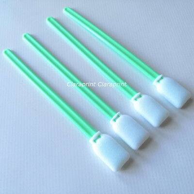 Cleaning Swab for Large Format Inkjet Printer Swab Sponge Stick 100Pcs Bag