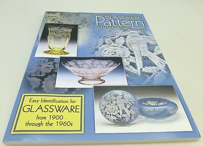 Florence's Glassware Pattern Identification Guide Vol. 2 By Cathy Gene Florence