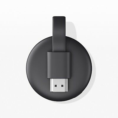 Google Chromecast 3rd Gen Digital HDMI Media Streaming Device (2018 Version)