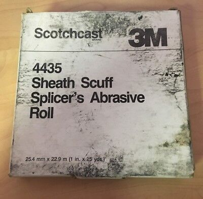 3M Scotchcast 4435 Sheath Scuff Splicer's Abrasive Roll