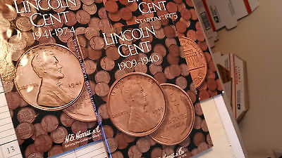 1909 VDB - 2013-D Lincoln Cent set. Good to BU. Missing 4 coins.